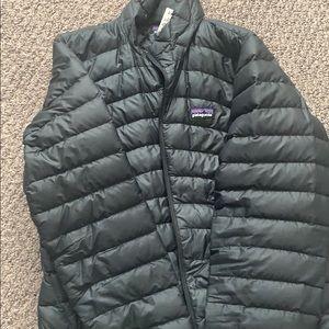 Winter Patagonia puffy coat